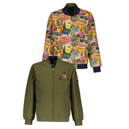 Street Called Madison - Reversible summer jacket SUPERMAN Groen