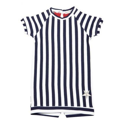 Kiezeltje - Dress / Dark Blue Stripe