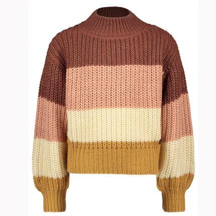 Street Called Madison - Luna colourblock knit sweater ARIA