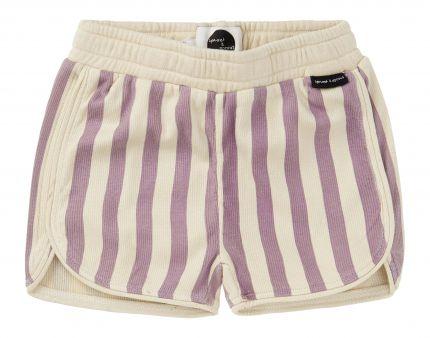Sproet & Sprout - Sport Short Stripe  / Shell Violet