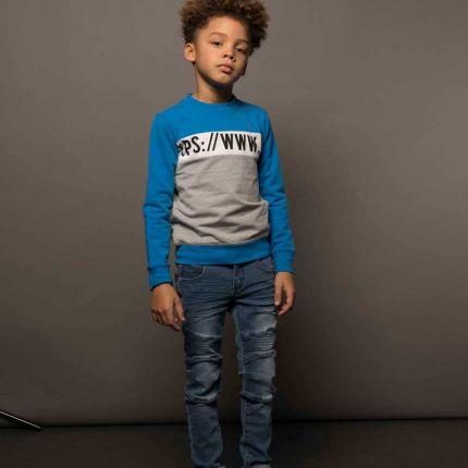 TYGO & Vito - Sweater HTTPS / Cobalt