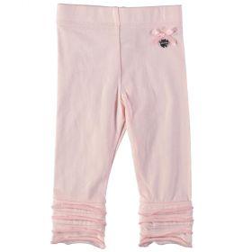 Le Chic - Legging Ruffle / Powder Pink