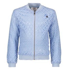 Le Chic - Bomber Jacket Kant / Morning Blue