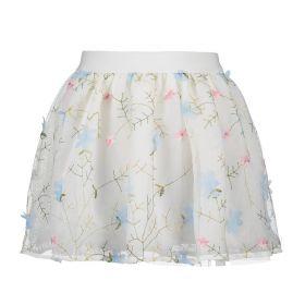 Le Chic - Skirt Flower / Morning Blue