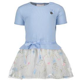 Le Chic - Dress Net Skirt / Morning Blue