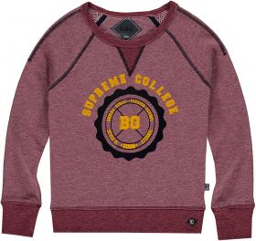 Bomba - College Sweater / Bordeaux