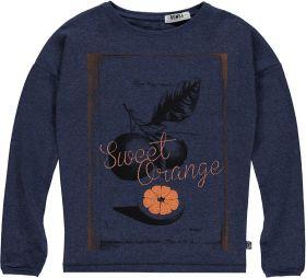 Bomba - T-Shirt Sweet Orange / Blue