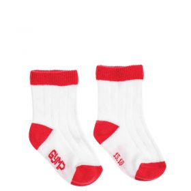 Gymp - Socks / White Red