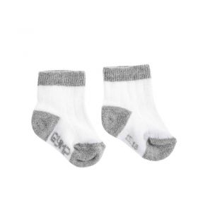 Gymp - Socks / White Grey