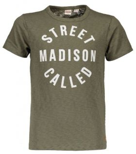 Street Called Madison - T-Shirt Hey Charlie / Army