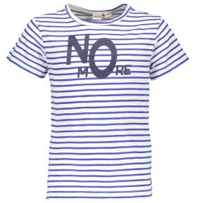 Street Called Madison - Stripe T-Shirt Mr Ray / Mid Blue