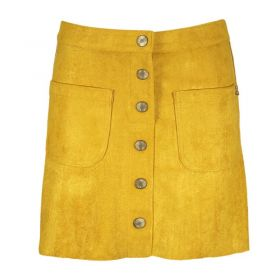S.C.M - Button Skirt / Yellow