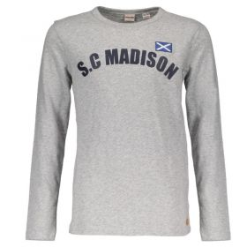 Street Called Madison - Longsleeve / Grey Melange