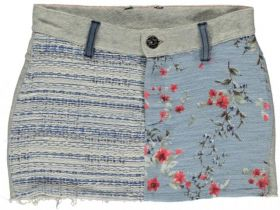 Bomba for Girls - Mix and Match Skirt / Jaquard Blue