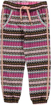Bomba - Striped Sporty Pants / Fancy Pink Stripe