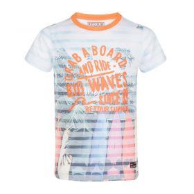 Retour - T-Shirt Kieran / Neon Orange