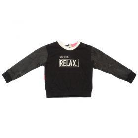 Kiezeltje - Sweater / Black