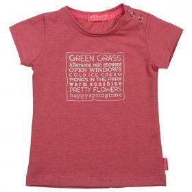 Kiezeltje - T-Shirt / Raspberry