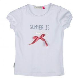 Kiezeltje - T-Shirt / White