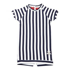 Kiezeltje - Dress / Dark Blue Stripe