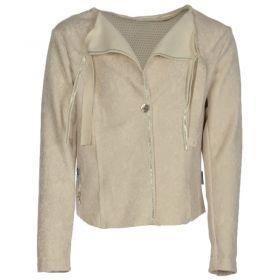Kiezeltje - Jacket Croco / Wit