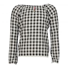 Kiestone - Blouse / Black check