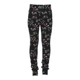 Kiestone - Pants / Black print