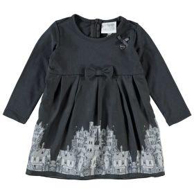 Le Chic - Dress Print / Dark Grey