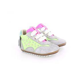 Shoesme - Sneaker Neon / Silver Green