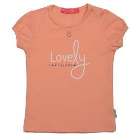 Kiezeltje - T-shirt / Peach