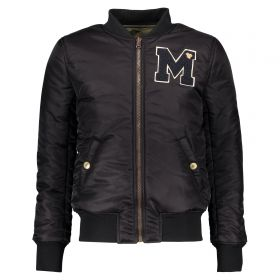 Street Called Madison - Baseball Jacket Reversible / Black Green