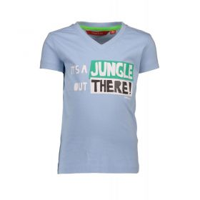 TYGO & Vito - T-Shirt It's a Jungle / Light Blue