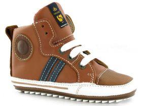 Shoesme - Sneaker Hoog / Cognac