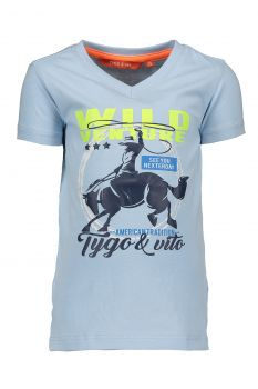 TYGO & Vito - T-Shirt Wild Venture / Light Blue