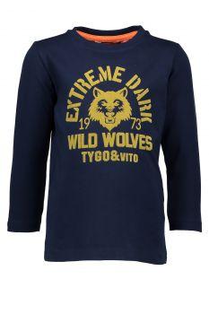 TYGO & Vito - Longsleeve Wolves / Navy