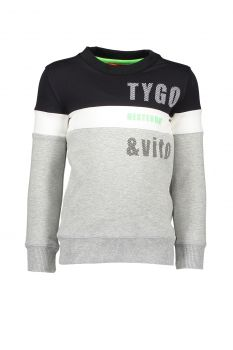 TYGO & Vito - Sweater Roma / Black