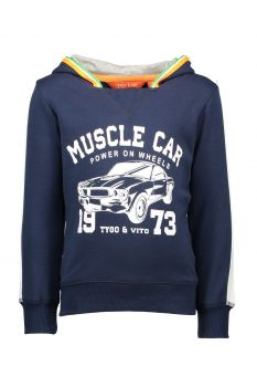 TYGO & Vito - Hoodie Muscle Car / Navy