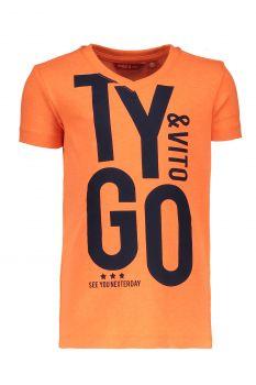 TYGO & Vito - T-Shirt Tygo / Orange